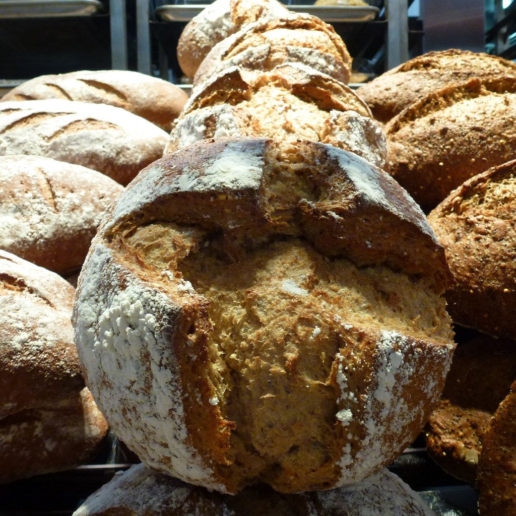 New at Central Market's Midway and Northwest Highway store, the dense, moist einkorn-and-lupin sourdough bread is made from heritage einkorn wheat. It will eventually be at all stores.