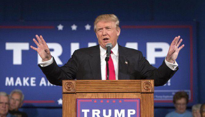 Donald Trump durante un evento en Carolina del Sur. (AP/Stephen B. Morton)