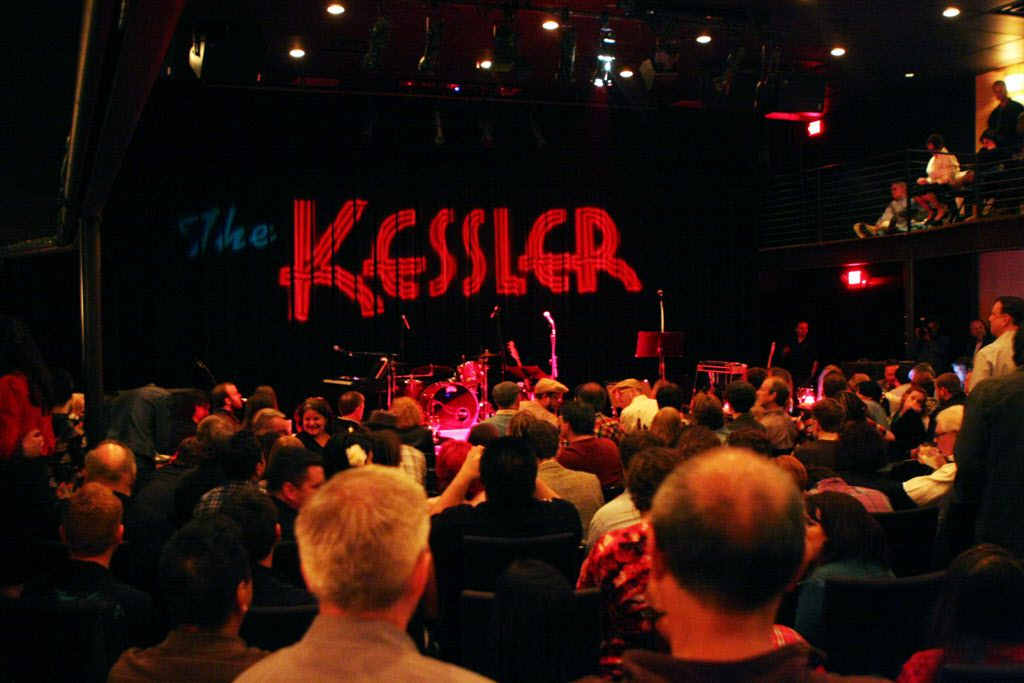 The crowd at The Kessler Theater before the performance of rock singer Wanda Jackson on Feb. 26, 2011 in Dallas. BEN TORRES / Special Contributor