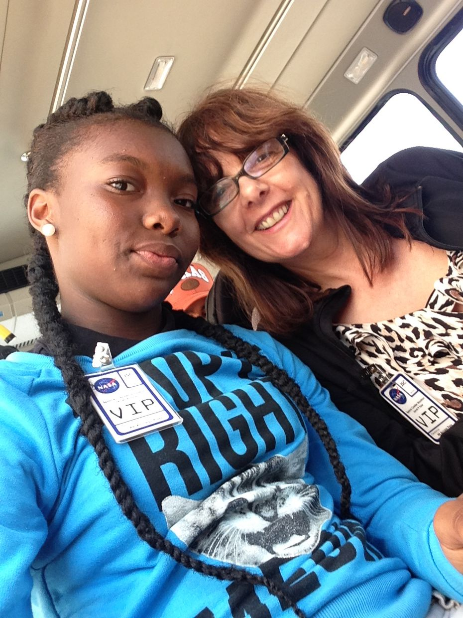 Sue Birch became a Big Sister to Kia Brown through the Big Brothers Big Sisters program of North Texas.