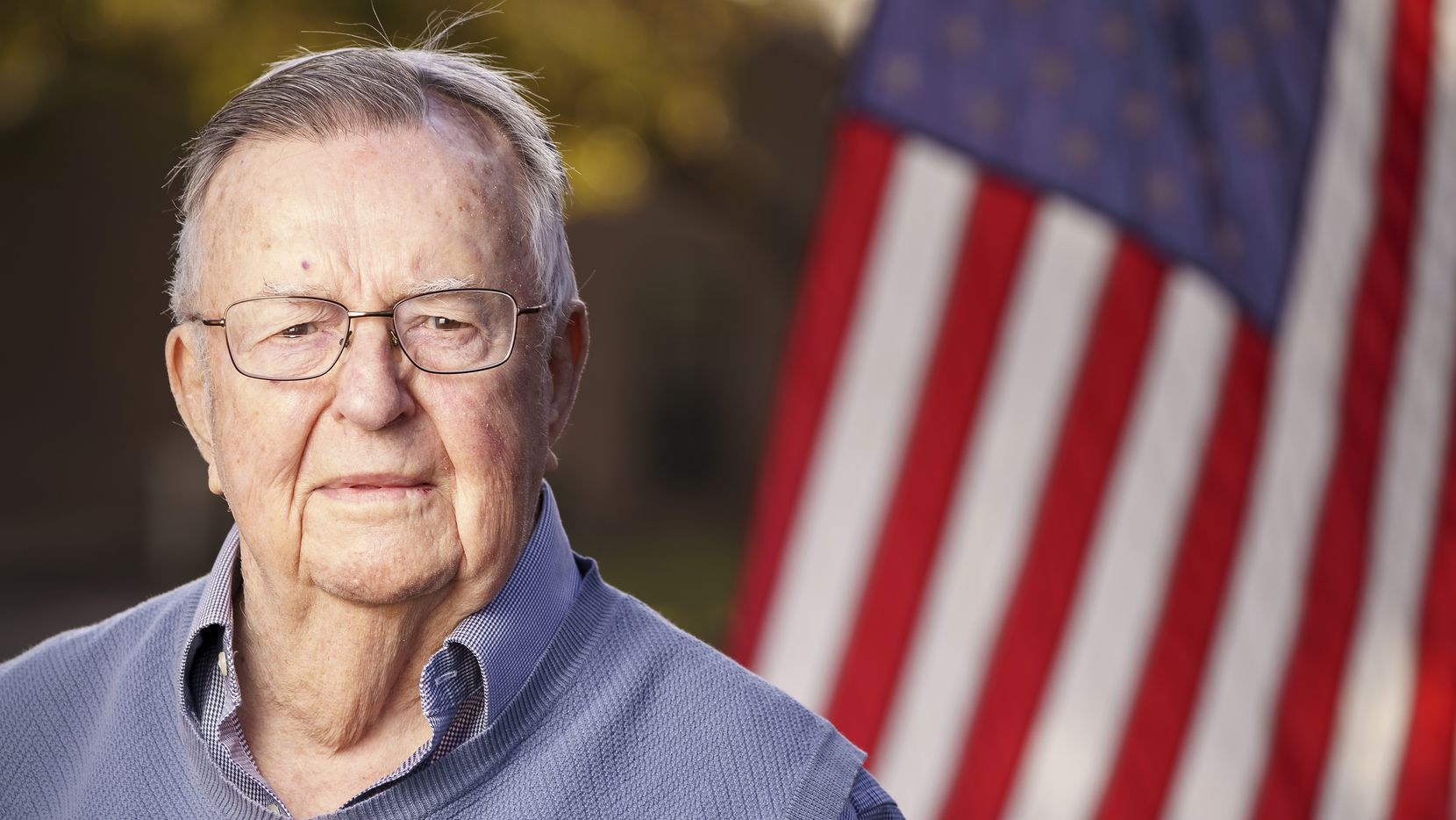World War II veteran Arthur Wood will turn 100 a couple of weeks after Veterans Day, but first he'll be among the guests of honor at a ceremony at his Dallas senior living community.