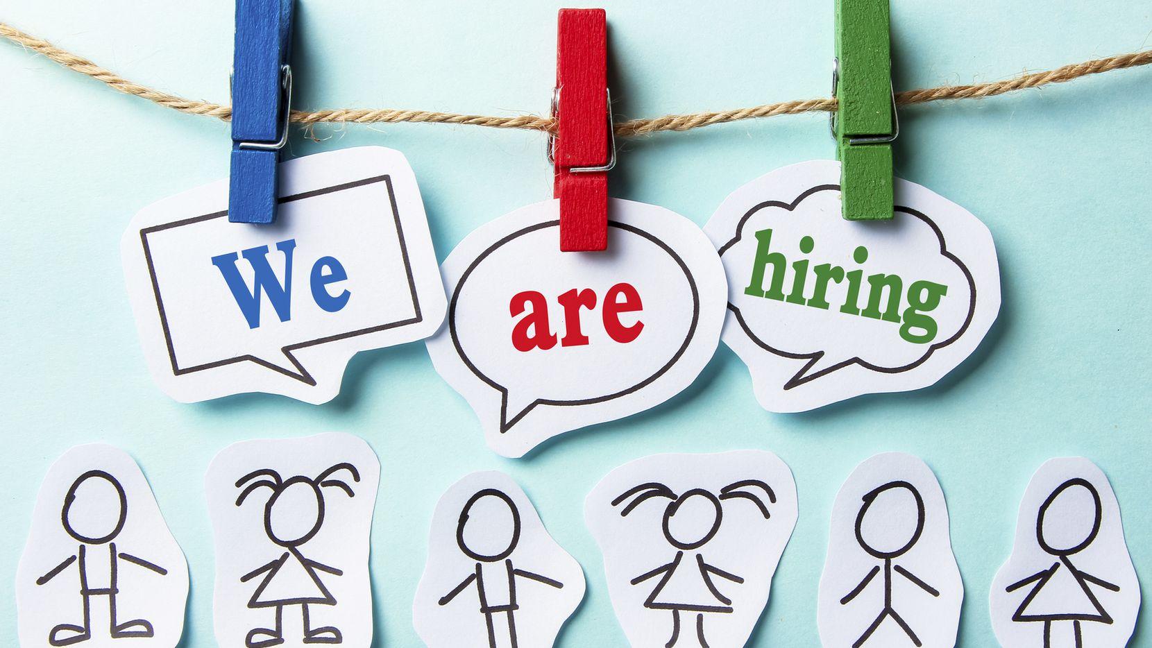 Una compañia local se encuentra contratando para puestos en Dallas e Irving/iStock