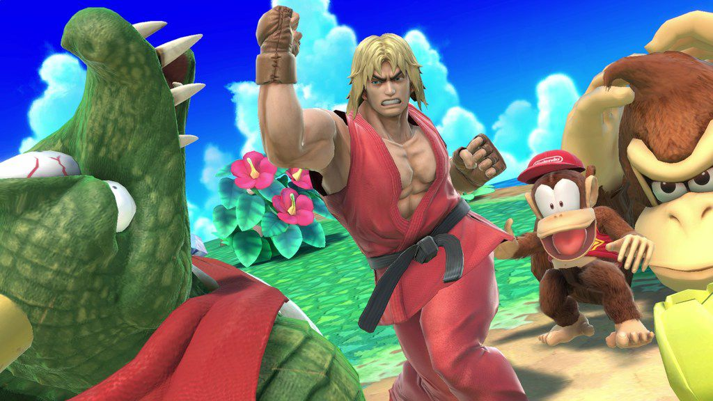 "A screenshot from ""Super Smash Bros. Ultimate"" on the Nintendo Switch."