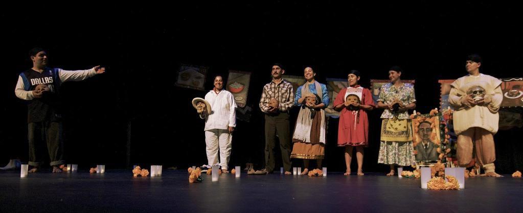 'Tina's Journey,' presented in 2011 by Cara Mia Theatre Company in collaboration with the Laboratorio de la M scara (Mask Laboratory)from Mexico City. Cara Mia Theatre Company will co-present the show again from Nov. 15-Dec. 2, 2018 at the Latino Cultural Center.