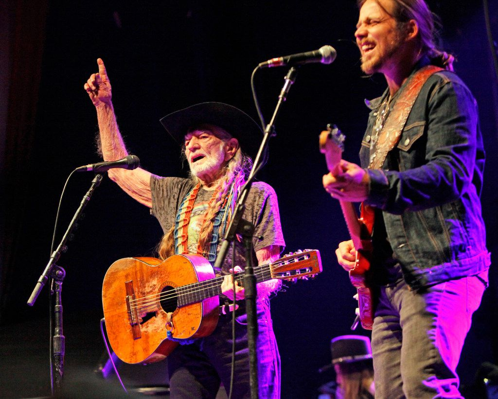 Willie Nelson and Family in concert at the Granada Theater in Dallas on Jan. 03, 2017. Ben Torres/Special Contributor