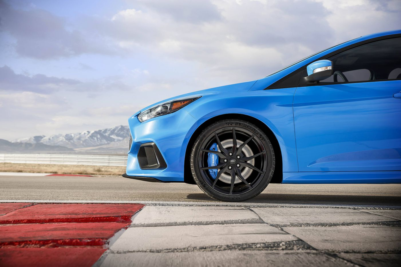 The Focus RS is the performance version of Ford's successful line of Focus hatchbacks.