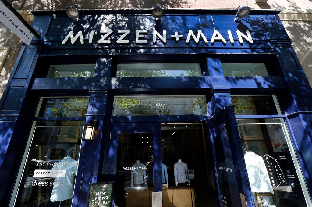The Mizzen+Main flagship store in the West Village shopping center in Dallas.