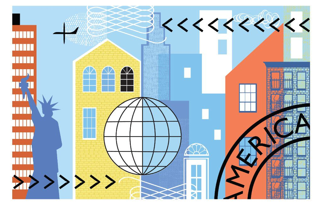 Uncertainty over the Trump administrationÕs immigration policies has brought about a spike in interest in the controversial EB-5 visa-for-sale program. (Bee Murphy/The New York Times)  -- NO SALES; FOR EDITORIAL USE ONLY WITH STORY SLUGGED TRUMP FOREIGN INVEST BY VELSEY FOR APRIL 23, 2017. ALL OTHER USE PROHIBITED. Ã'