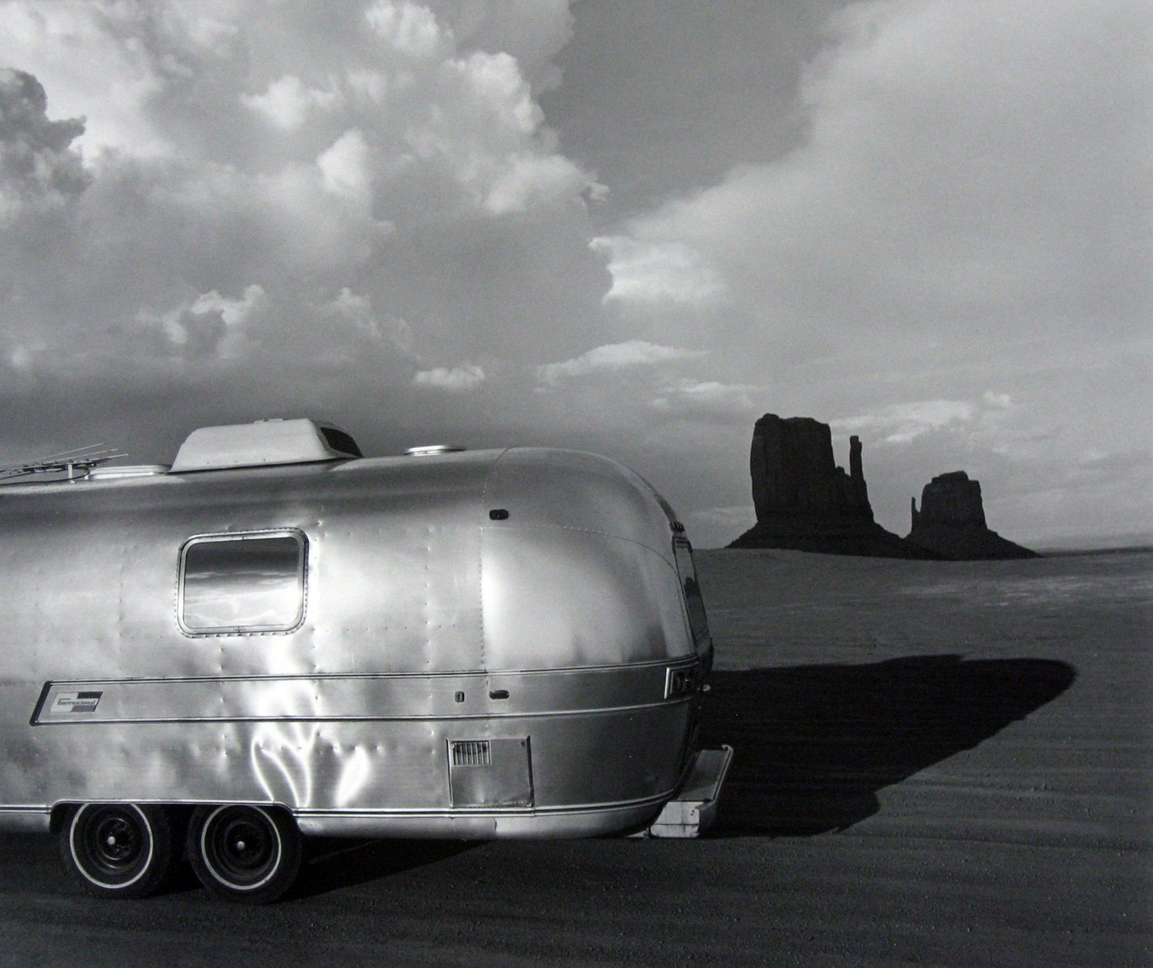 Airstream at Monument Valley Arizona, 1979