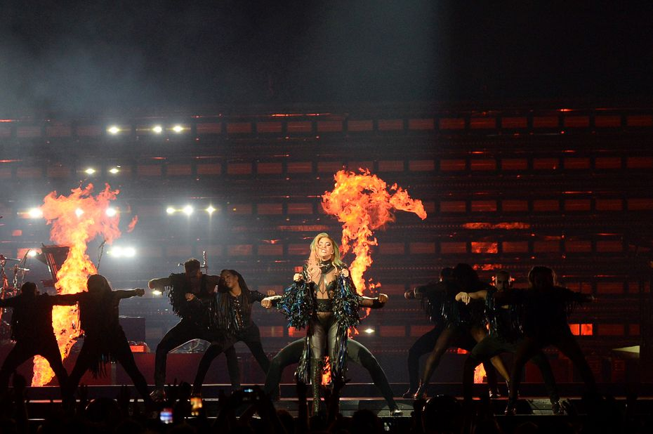 Lady Gaga's tour played Montreal in November, with the same heart-stopping pyrotechnics.