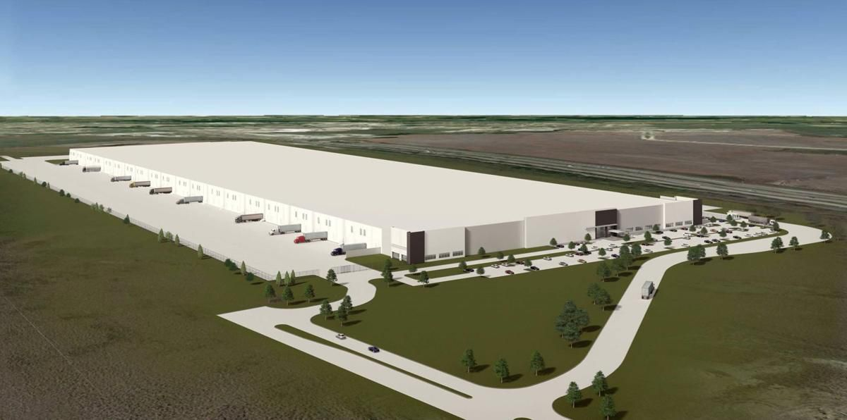 Goodyear is locating a new 1.2 million-square-foot distribution center in Forney, southeast of Dallas.