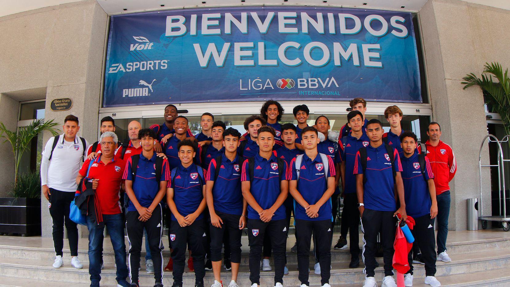 The FC Dallas U17s arrive in Mexico City to take part in the 2019 Liga MX Sub International Tournament.