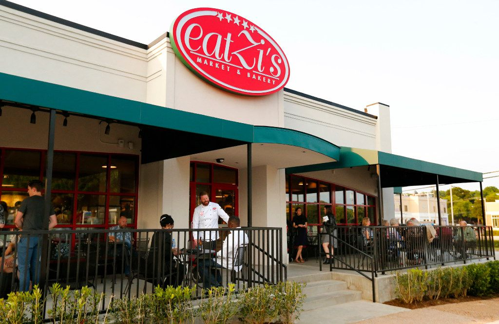 The new Eatzi's Market and Bakery at University Park Village was open for a VIP Night in Fort Worth on May.