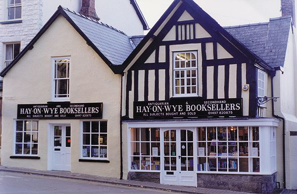 Hay-on-Wye has been named Wales  official  National Book Town,  and has served as a global magnet for book lovers since opening its first secondhand-book shop in the early 1960s.