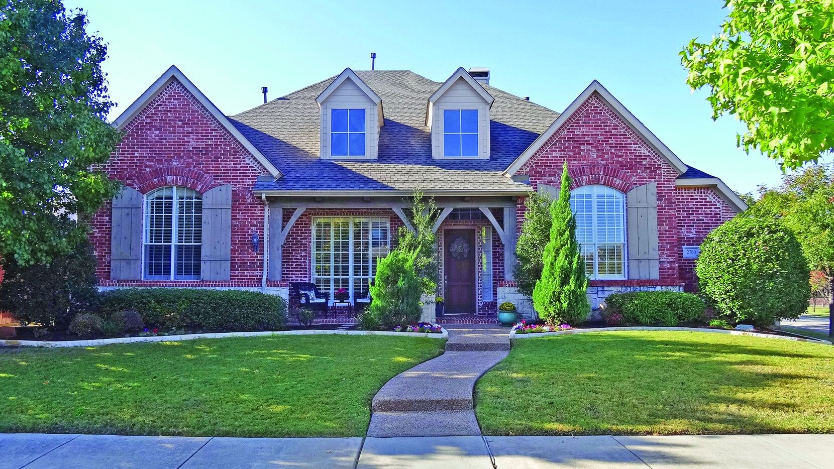 The Highland-built home at 2700 Queen Elaine Drive is in the Castle Hills master-planned golf community.