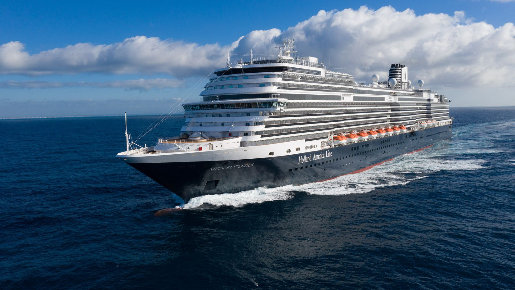 The Nieuw Statendam made its first journey across the Atlantic in December and now operates from Fort Lauderdale, Fla.