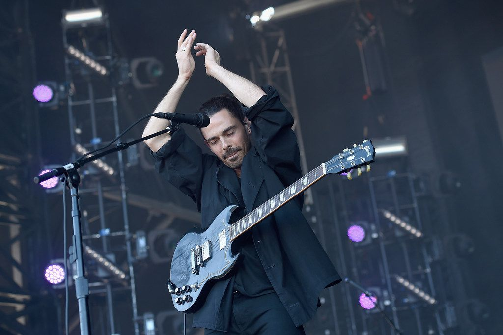 Taylor Rice of Local Natives performs onstage during day two of the 2017 Governors Ball Music Festival at Randall's Island on June 3, 2017 in New York City.  (Photo by Nicholas Hunt/Getty Images)