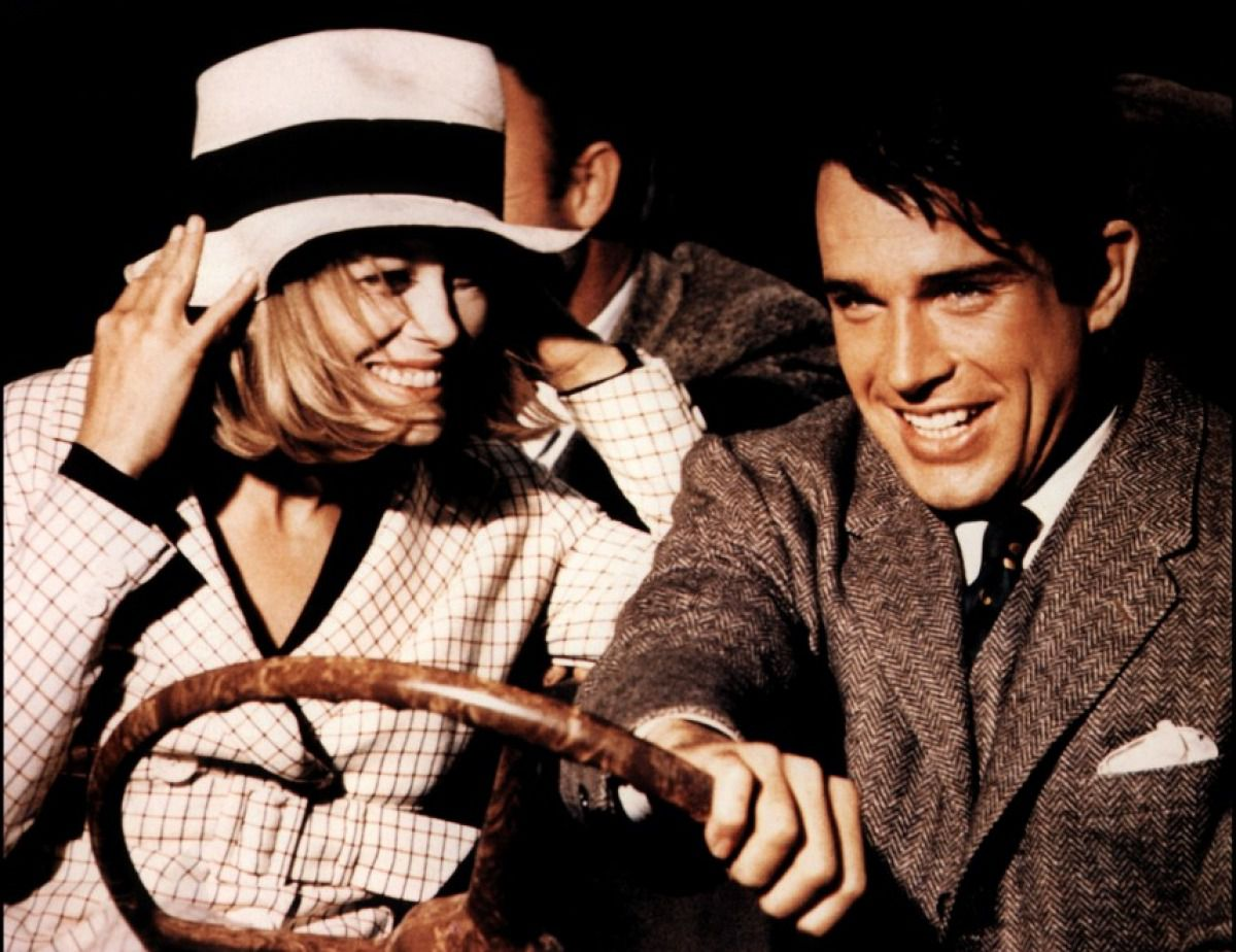 "We rob banks: Faye Dunaway and Warren Beatty in ""Bonnie and Clyde"""