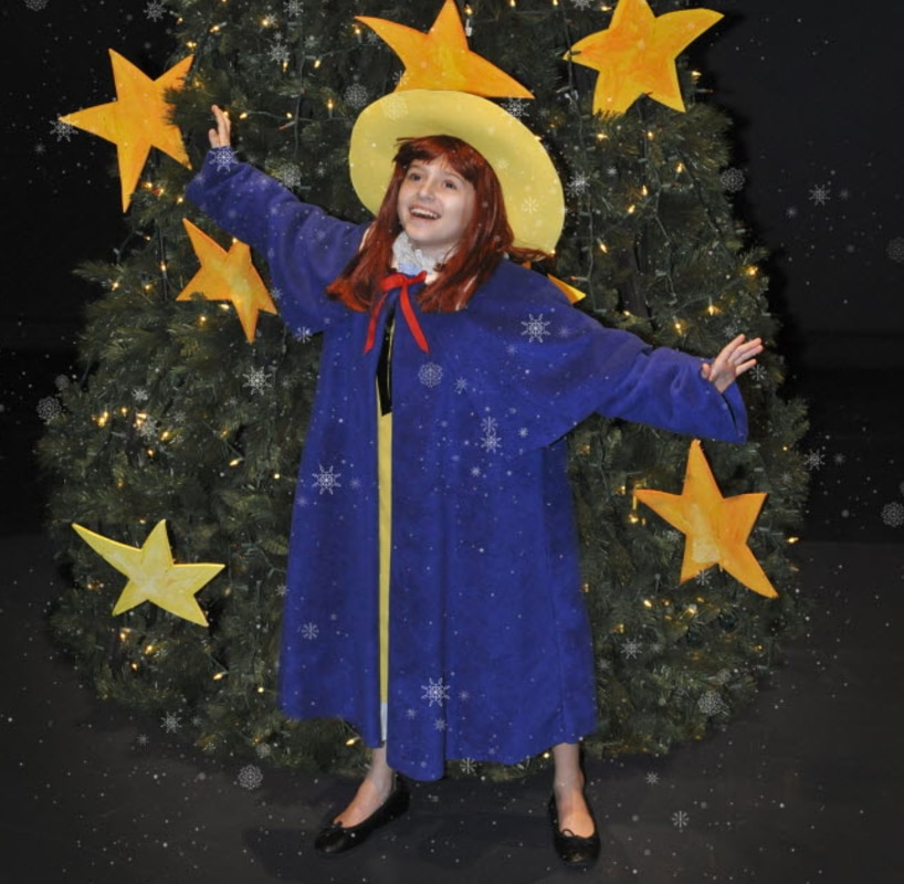 Here's Madeline from a Dallas Children's Theater production. You might have some of these articles of clothing in your kid's closet already!