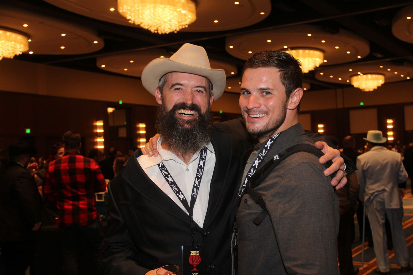 NTX Beer Week held its Second Annual Brewers Ball at the Renaissance Dallas Hotel on November 13, 2015. Tony Drewry and Tyler Malone
