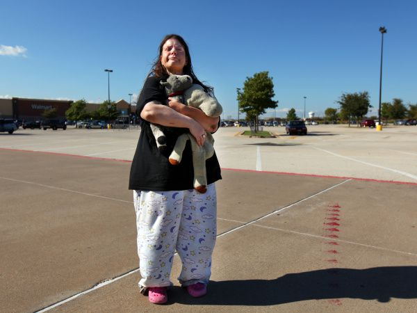 Michelle Cohen, 42, who has schizo-affective disorder, fought off the guardianship sought by the bank that oversaw her trust fund. But now the money is gone and she's living out of her van in a Plano retail parking lot.