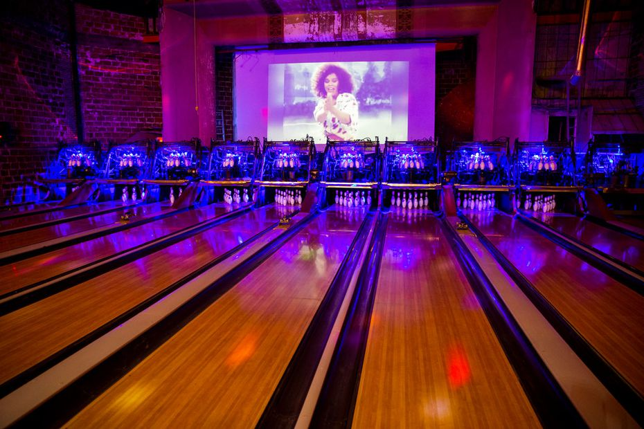 In place of the Lakewood Theater's stage — one that hosted tons of famous acts — patrons will find bowling lanes.