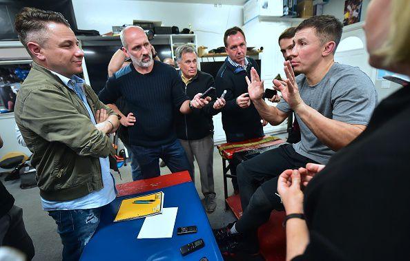 Gennady Golovkin acusa a Canelo Álvarez y Oscar de la Hoya de doparse y culpar a la carne mexicana. Foto Getty Images