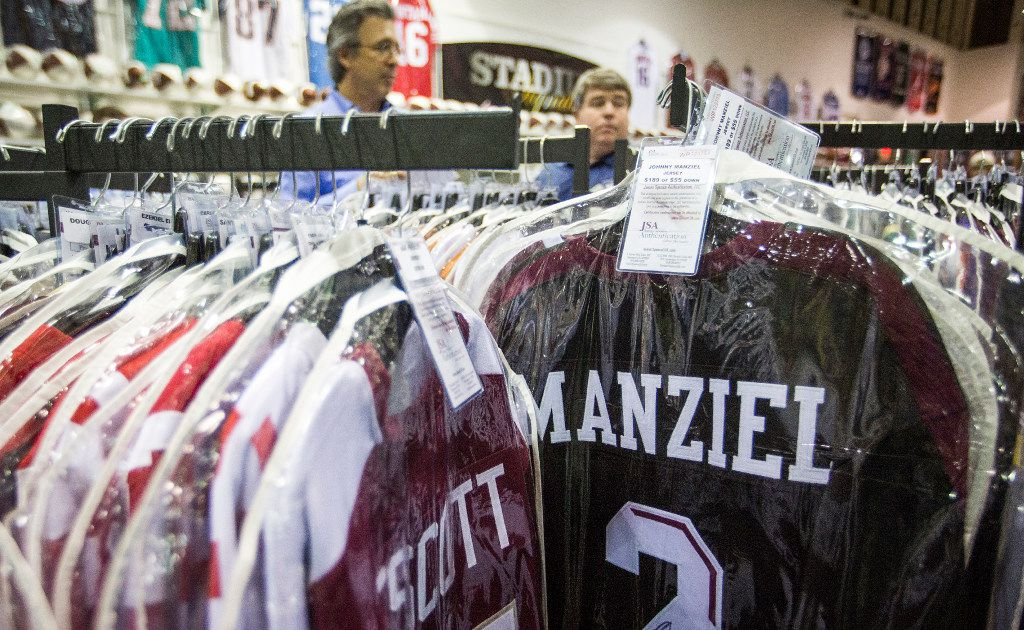 Police investigating theft of stolen Johnny Manziel jersey from Kyle Field