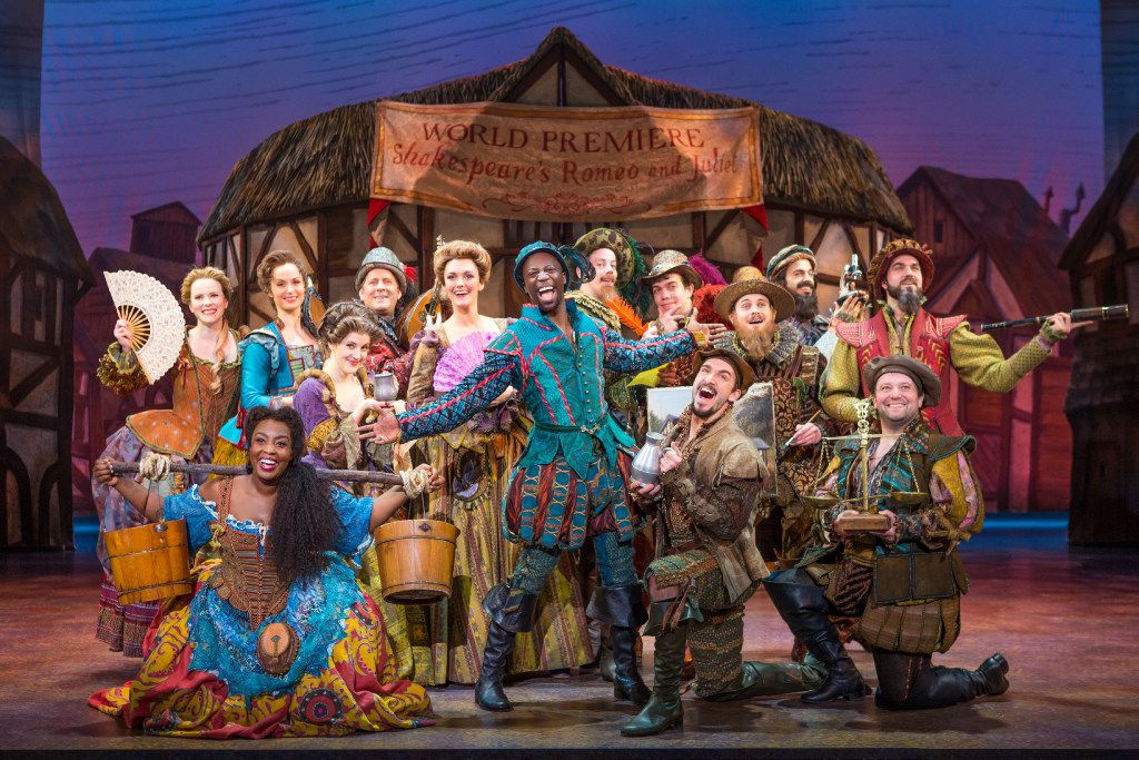 "The national tour of ""Something Rotten"" is being presented by AT&T Performing Arts Center at Winspear Opera House through June 25."