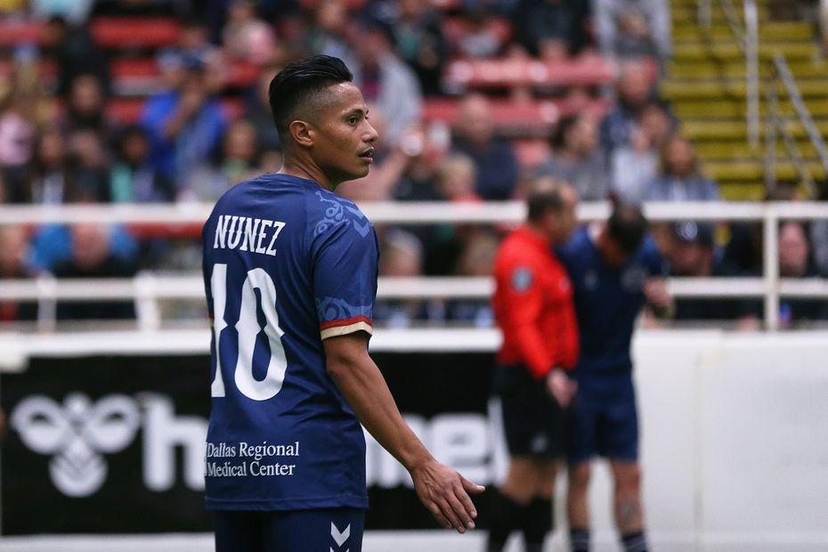 Ramón Núñez, ex seleccionado de Honduras, juega con los Outlaws.