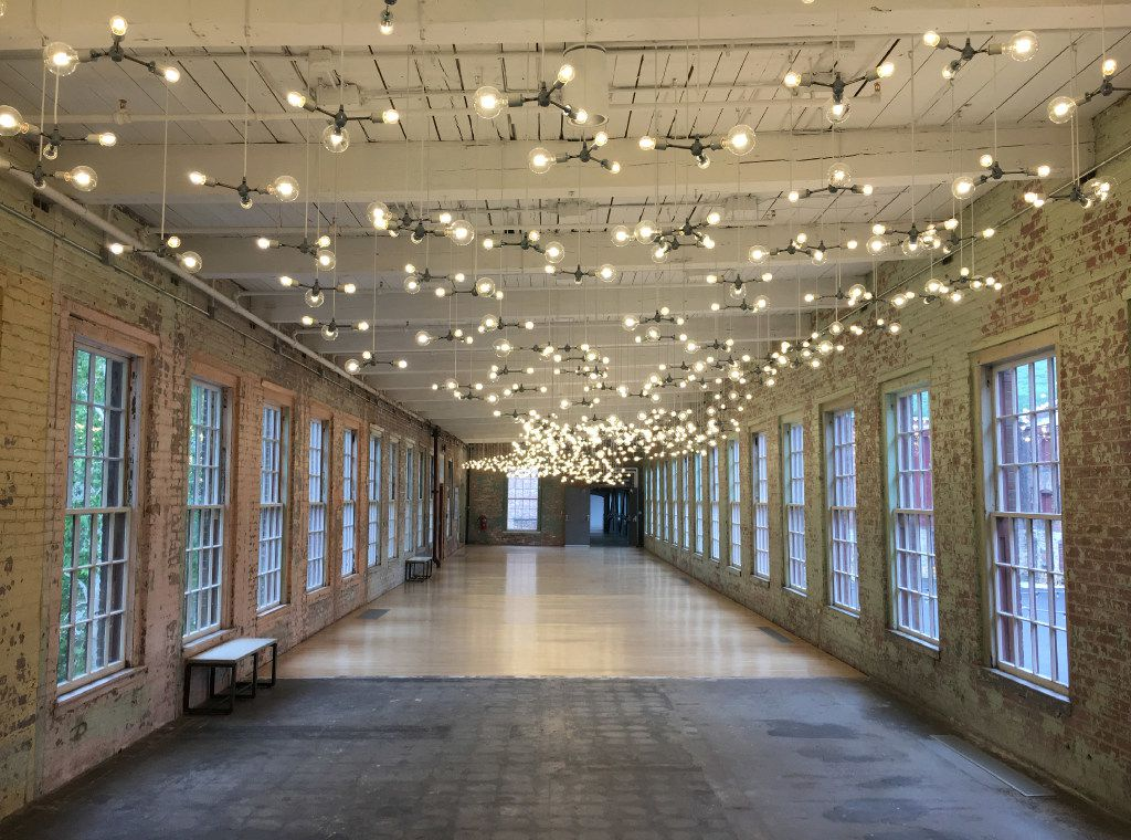 Mass MoCA  Massachusetts Museum of Contemporary Art    Spencer Finch installation