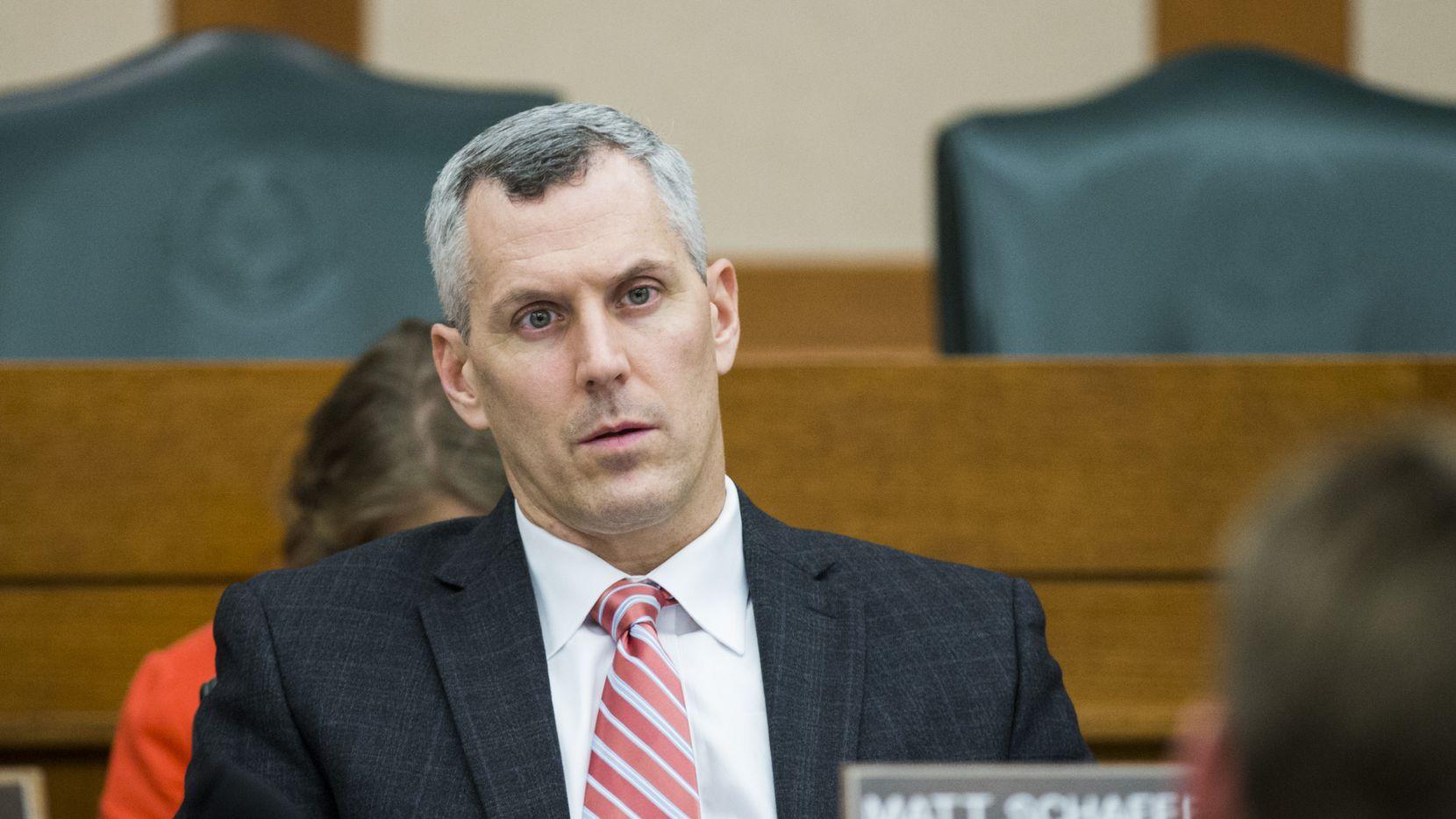 Matt Schaefer, legislador republicano, representa un distrito en Tyler, Texas.