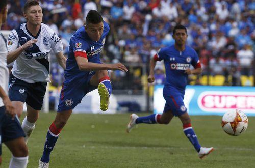 Cruz Azul sigue con paso firme en el torneo Apertura MX 2018. (AP Photo/Marco Ugarte)