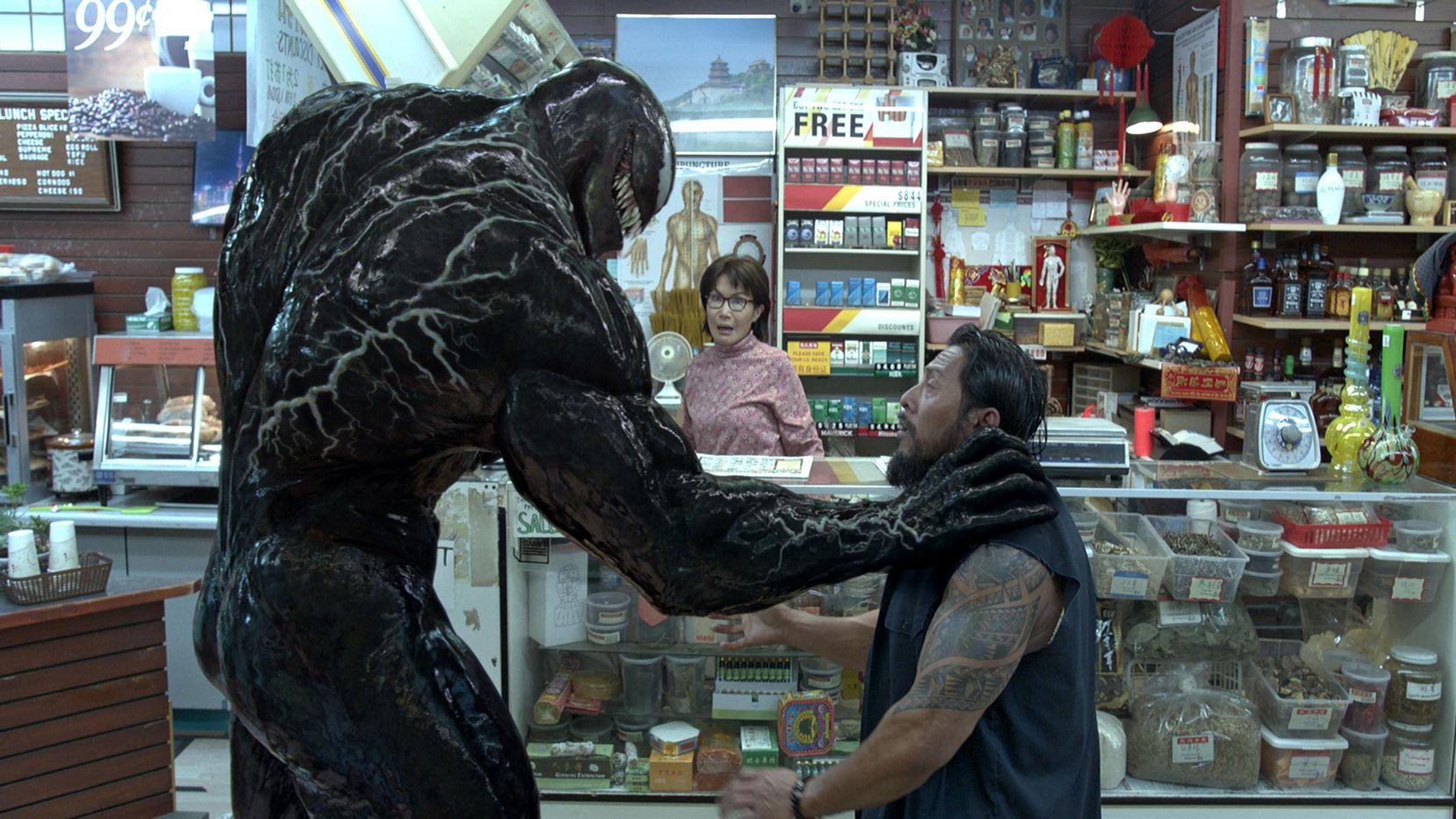 """Tom Hardy es la figura principal del nuevo personaje de Marvel que llega a la pantalla grande, """"Venom"""".(SONY PICTURES)"""