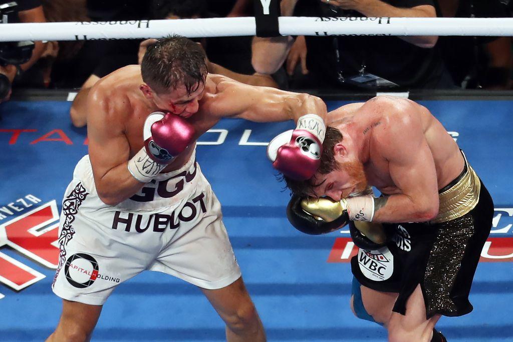 Saúl Canelo Álvarez y Gennady GGG Glolovkin se enfrentaron dos veces en Las Vegas.