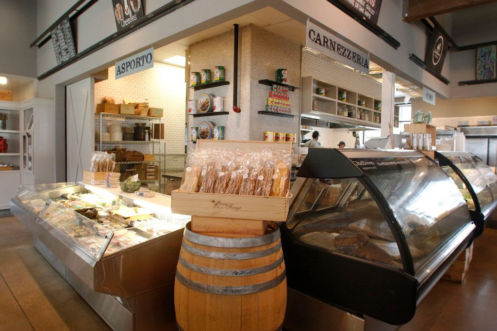 CiboDivino Marketplace offers meats, cheese and grab-and-go meals.