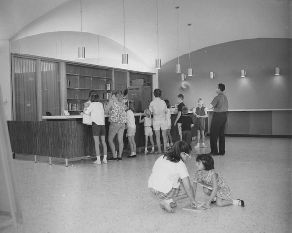 The Preston Royal branch library, which is on Royal Lane near Preston Road, opened in 1964.