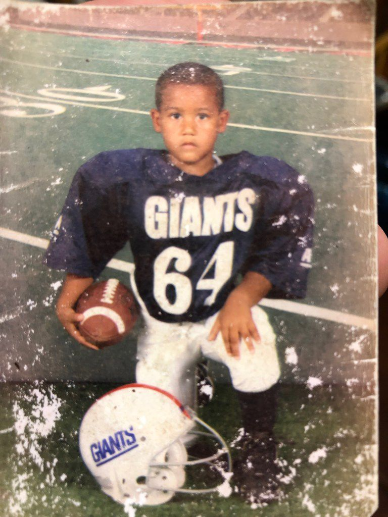Cowboys defensive tackle Trysten Hill played youth football in Humble, Texas, as a 5-year-old