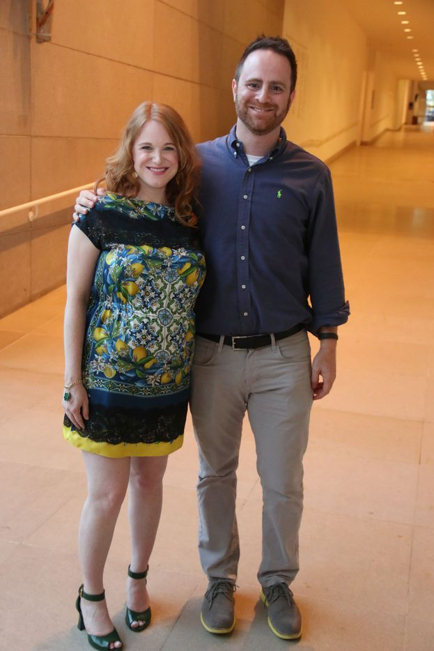 """Founders Nicole and Anton Schlesinger  at Oral Fixation's """"The Best of Season Four"""" at the Dallas Museum of Art on August 15, 2015"""