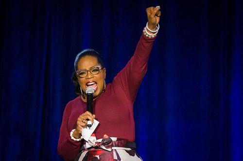 Oprah Winfrey se encuentra en el Metroplex para dar un discurso en una gala benéfica. SMILEY N. POOL/DMN