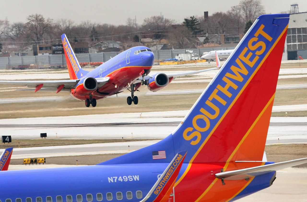 Southwest Airlines reportó ganancias de $522 millones en su úlitmo trimestre. (GETTY IMAGES/SCOTT OLSON)