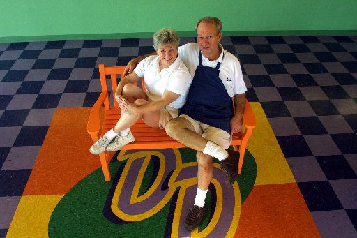 Nancy and Lloyd Sheets opened Double Dip Frozen Custard in 2001 in old downtown Frisco, then re-located the shop to a new development in Frisco.