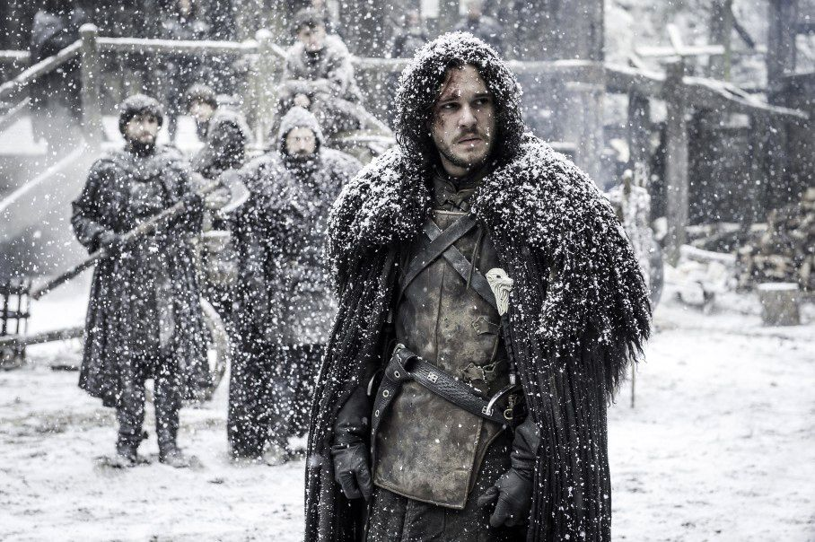 "John Snow (Kit Harrington), cuando estaba vivo en ""Game of Thrones"". HBO"
