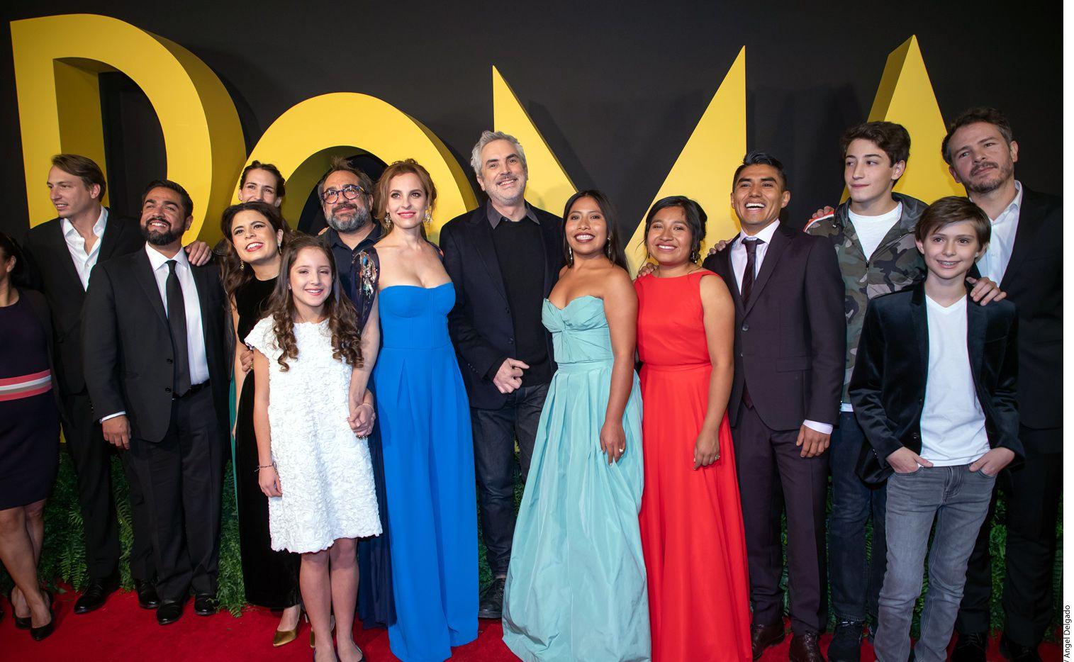 """""""Roma"""", película de Alfonso Cuarón, ha ganado 153 premios alrededor del mundo en distintas categorías.Te invitamos a conocer cuáles han sido los reconocimientos más importantes. (AGENCIA REFORMA)"""