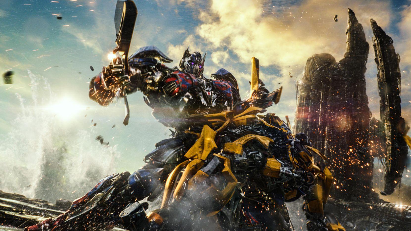 """Optimus Prime en una escena de """"Transformers: The Last Knight"""". PARAMOUNT PICTURES"""