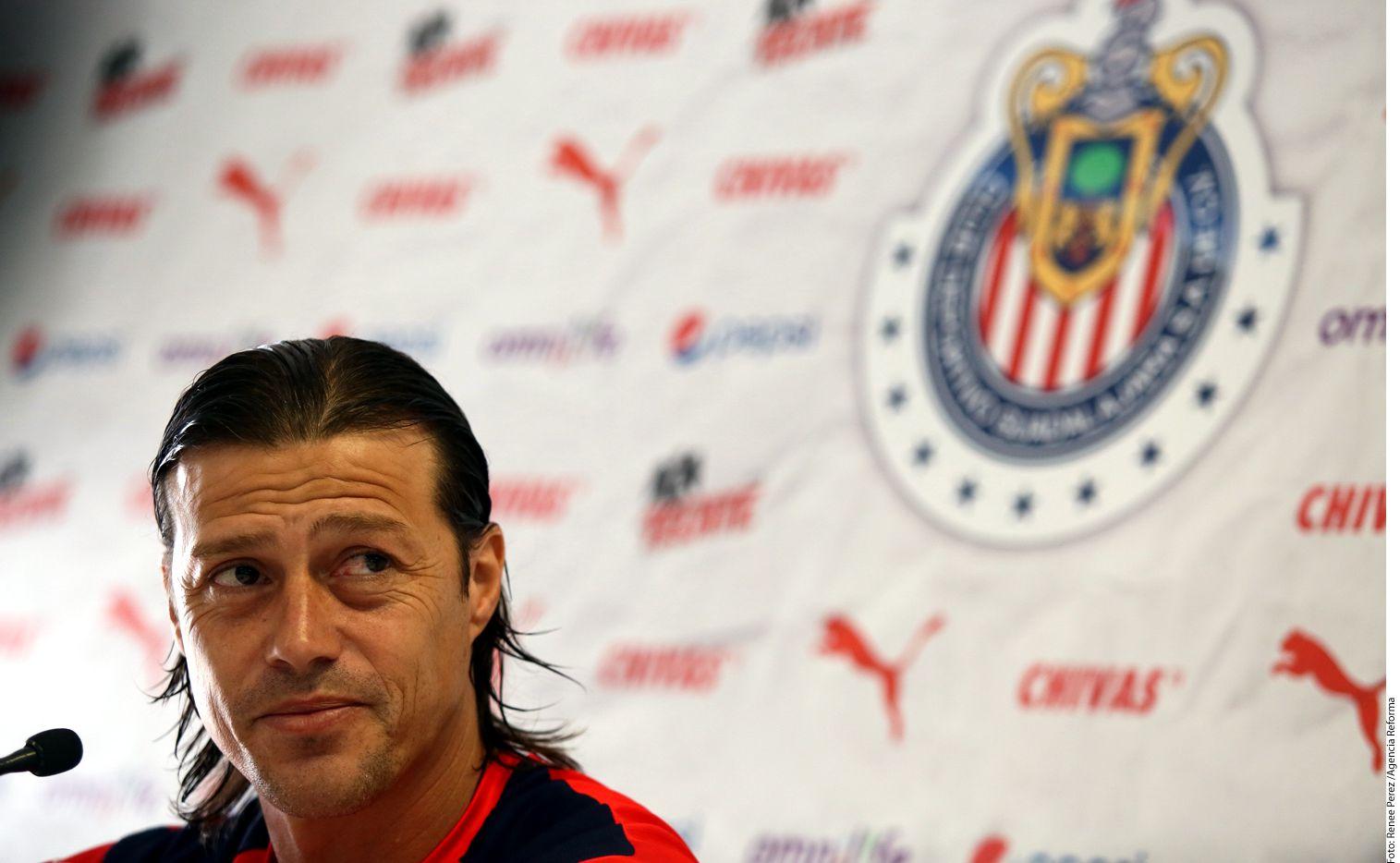 El técnico Matías Almeyda recordó que Omar Bravo le compartió su deseo de salir de Chivas desde semanas antes de la Final de Supercopa MX./AGENCIA REFORMA