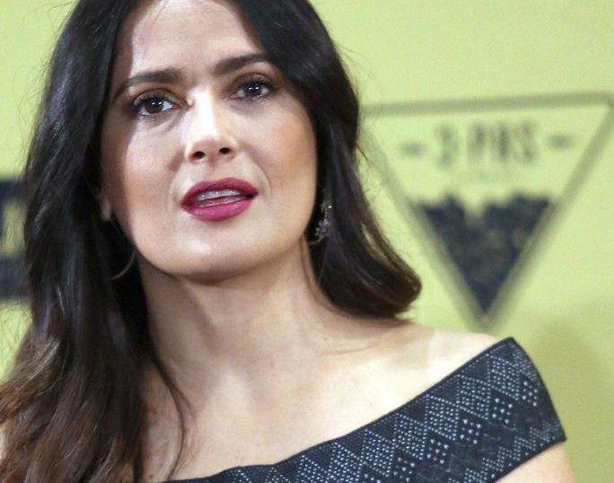 La actriz mexicana Salma Hayek.(AGENCIA REFORMA)