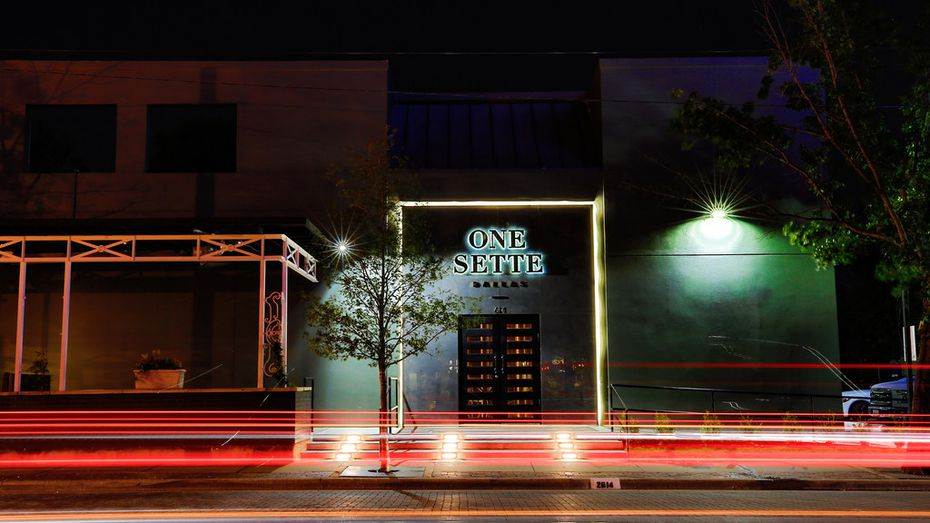 """One Sette is pronounced """"one set."""" The new nightclub has a short-term lease in Uptown Dallas."""
