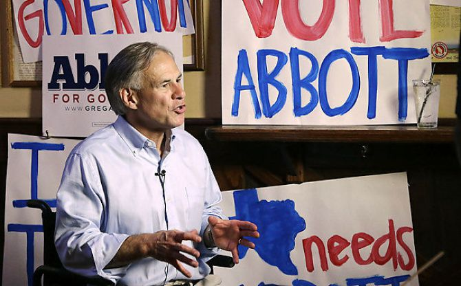 Texas Attorney General Greg Abbott, who is seeking the Republican nomination for governor for the 2014 election, released his personal income tax returns on Friday.
