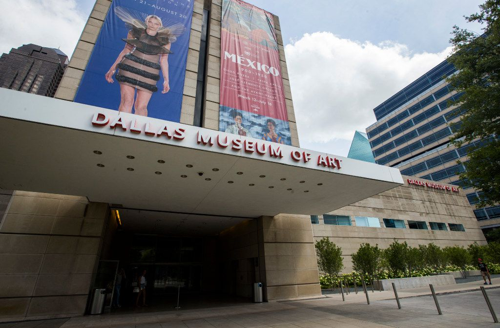 The Dallas Museum of Art on Wednesday, July 5, 2017 in downtown Dallas. (Ashley Landis/The Dallas Morning News)